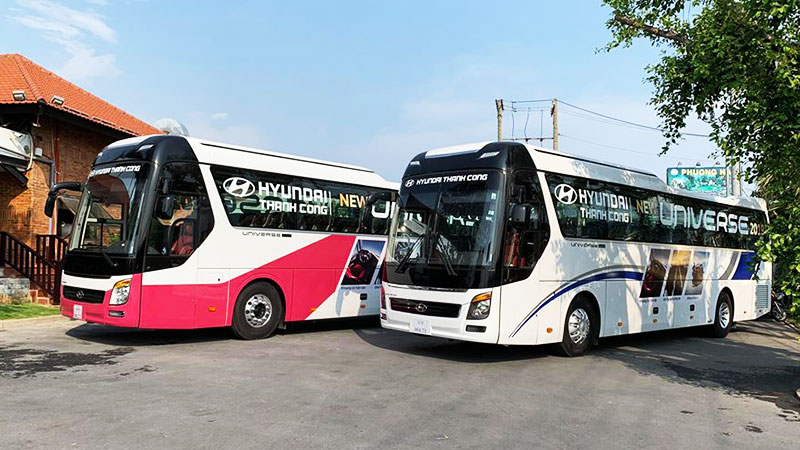 Chương trình trải nghiệm, lái thử xe County 2019 và New Universe tại Hyundai Việt Nhân
