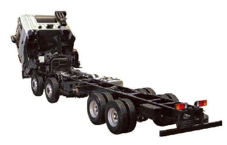sắt xi xe tải hyundai HD320 - 380