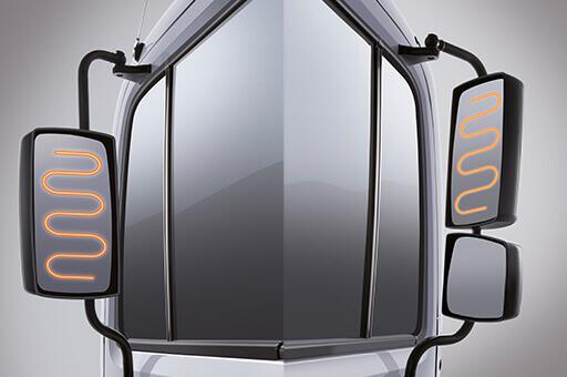 Gương chiếu hậu bên ngoài hyundai HD320