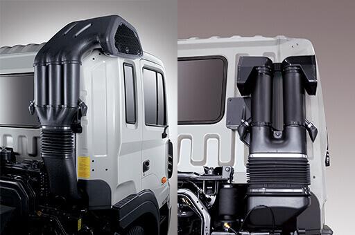 Ống dẫn khí nạp Hyundai HD320