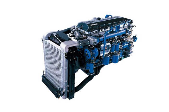 Động cơ D6CC Tiêu chuẩn khí thải EURO4