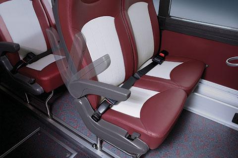 Ghế hành khách bằng da cao cấp
